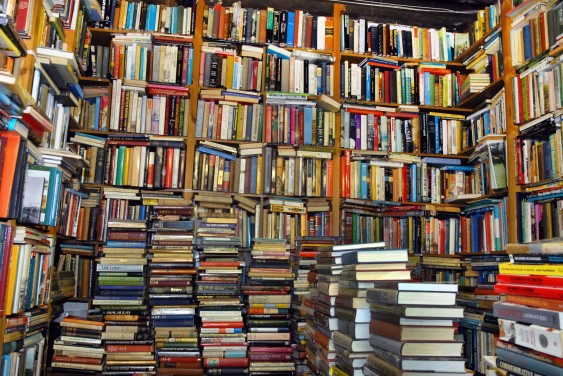 Overflowing-Bookcases