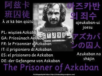 multilingual flashcards prisoner of azkaban