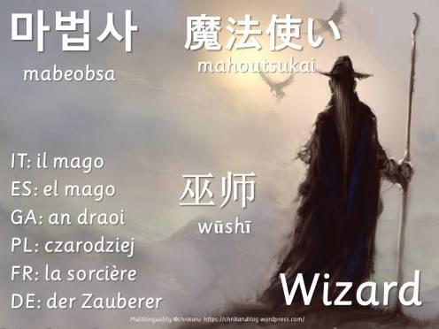 multilingual flashcards wizard