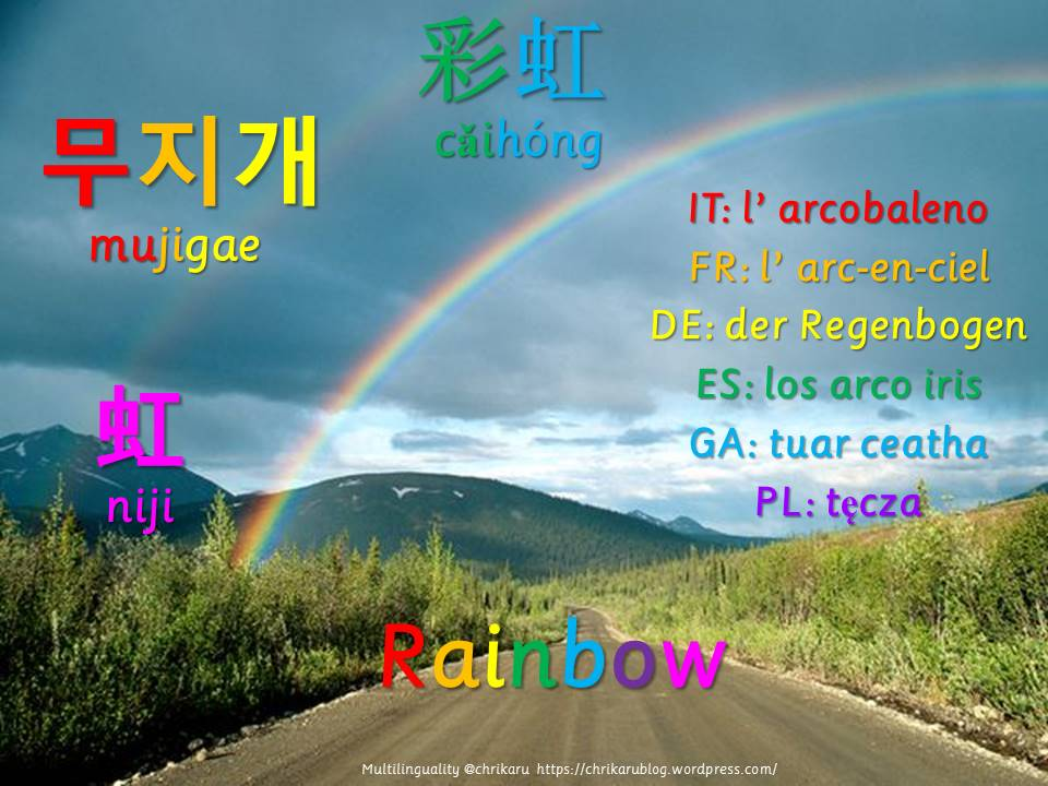 multilingual flashcards updated rainbow