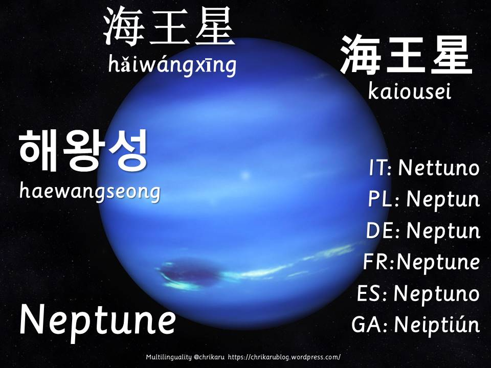 multilingual flashcards neptune