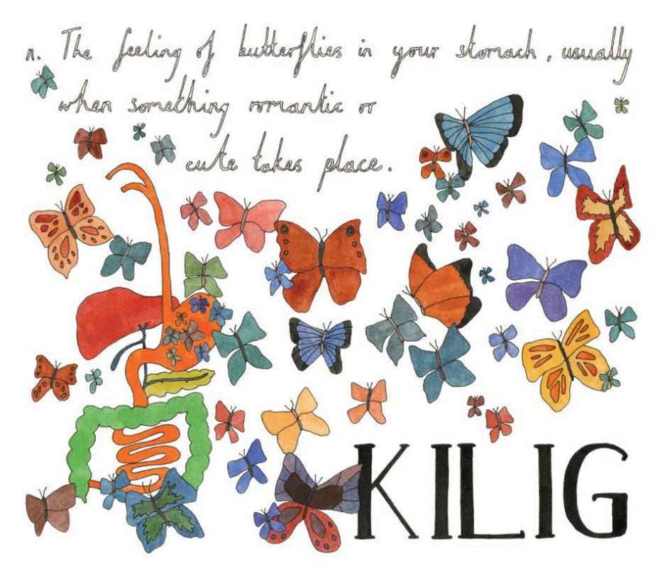 Kilig-Tagalog-noun