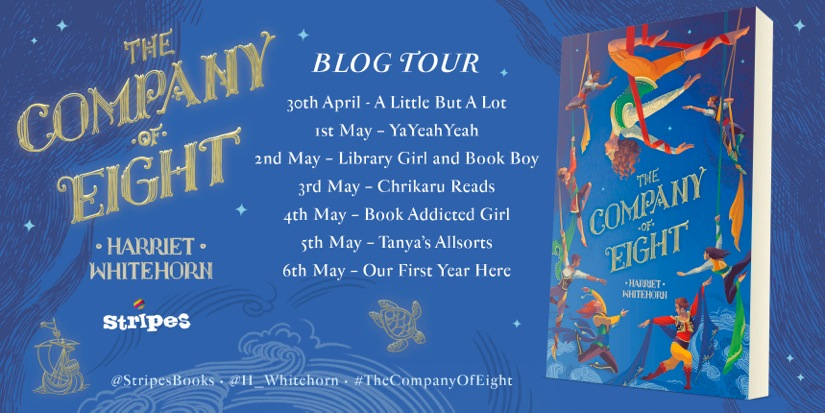 The Company of Eight BLOG TOUR BANNER