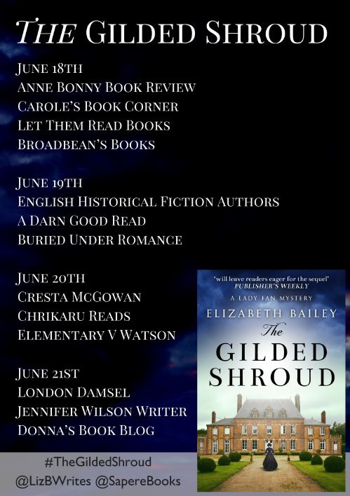 gilded shroud blog tour