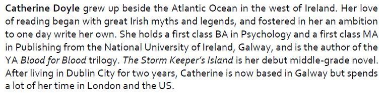 Catherine Doyle bio