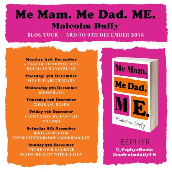 Me Mam blog tour banner