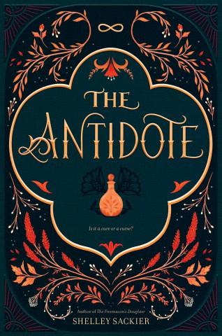 the antidote by shelley sackier cover