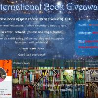 Win a book of your choice! Book giveaway!